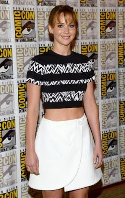 Jennifer Lawrence @ Comic Con 2013