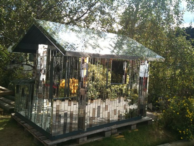 Mirror House Sits On A Lake Near Central Stockholm