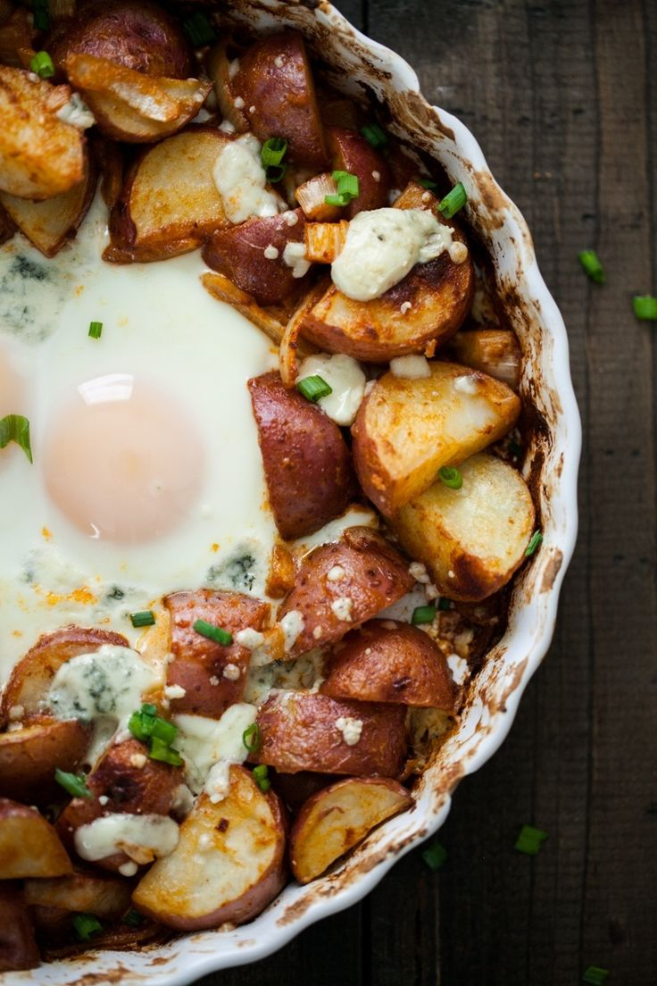 Smoked Paprika Red Potatoes and Egg Bake
