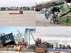Cyclone Phailin: Aftermath - Cyclone Phailin leaves a trail of destruction | The Economic Times