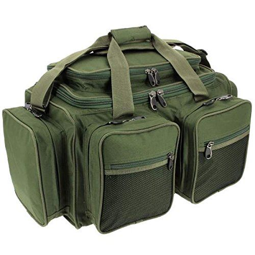 Fishing UK - NGT Unisex Xpr Coarse Fishing Tackle Box with Multi Pocket Match Bag New Carryall, Green, 61 x 29 x 31 cm