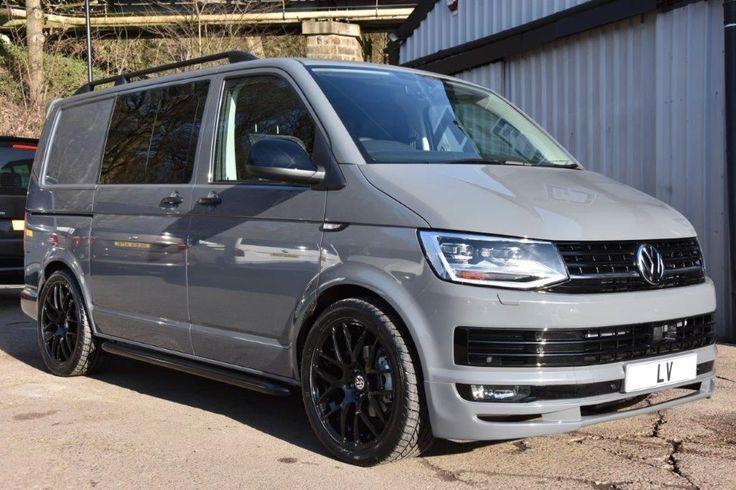 VW Transporter Euro 6 T6 T30 2.0TDI 150 Dsg SWB Kombi Sportline Pack, 2.0 Diesel, Automatic, Delivery miles, solid pure grey, 5 doors at Leighton Vans for £37,995 + VAT.