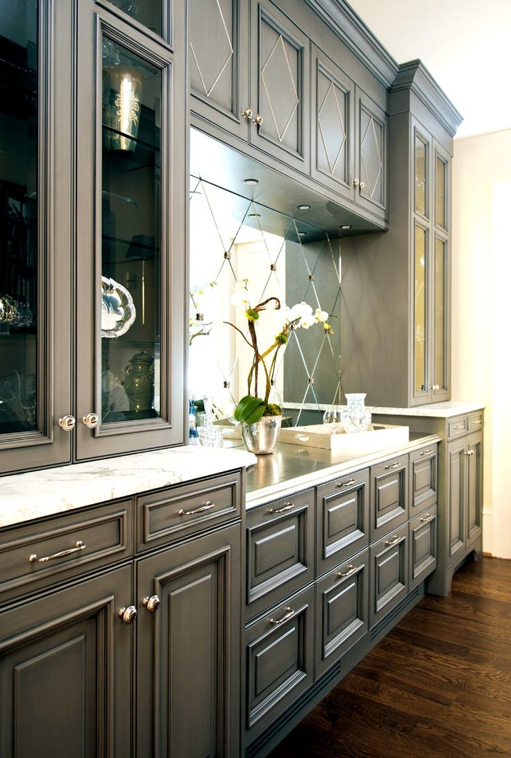 Apartments:Amusing Ideas About Gray Kitchen Cabinets Slate ...