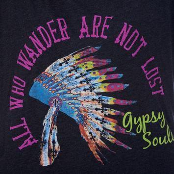 GYPSY SOULE - Gypsy Soule Native Headdress Tee - NRSworld.com