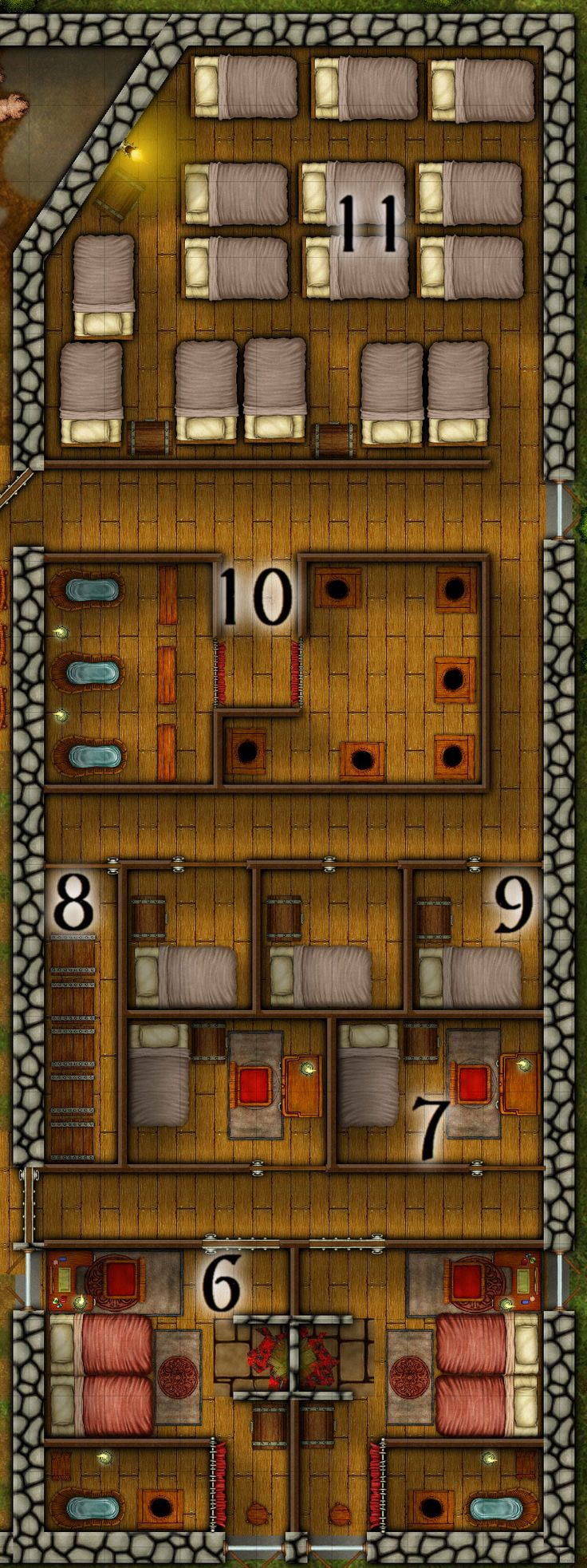 1000 images about gaming maps taverns inns on for Floor 2 dungeon map
