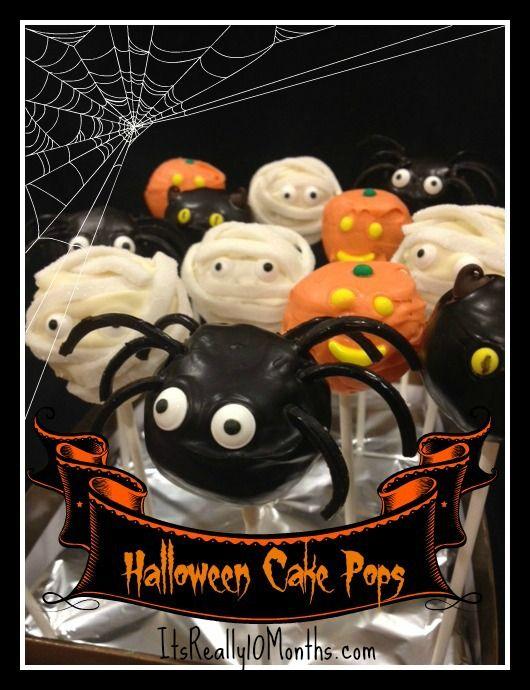 Halloween | Cake pops | Party | DIY | Baking | School | Kid | Food