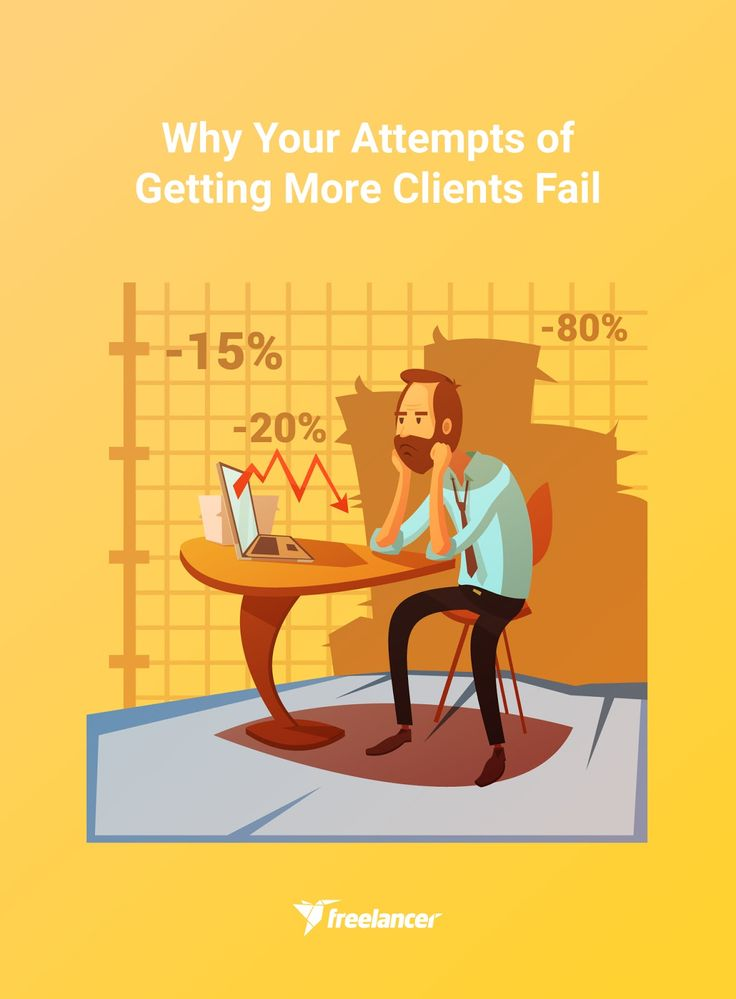 Why Your Attempts of Getting More Clients Fail #freelancing #freelancer #freelancingtips #onlinejobs #freelancebusiness