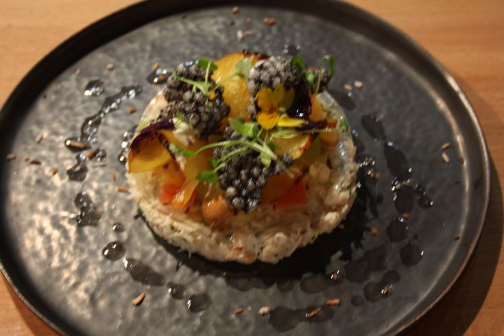Michelin star chef Richard Davies creates a fresh crab salad recipe