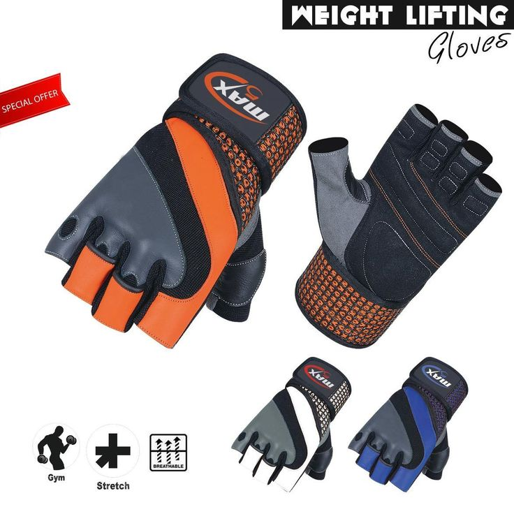 Best weight #lifting glove body #building gym #training glove w wrist protection,  View more on the LINK: http://www.zeppy.io/product/gb/2/152335626211/
