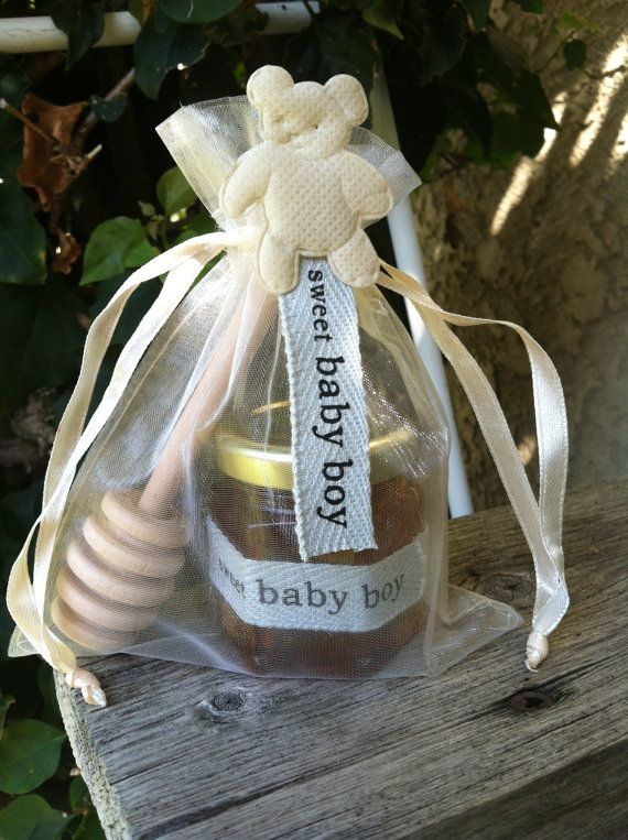 "36 Qty ""sweet baby boy"" honey shower favor gift on Etsy, $133.00"