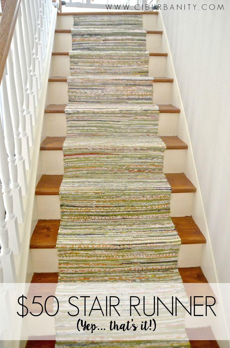 Staircase Runner For Under $50