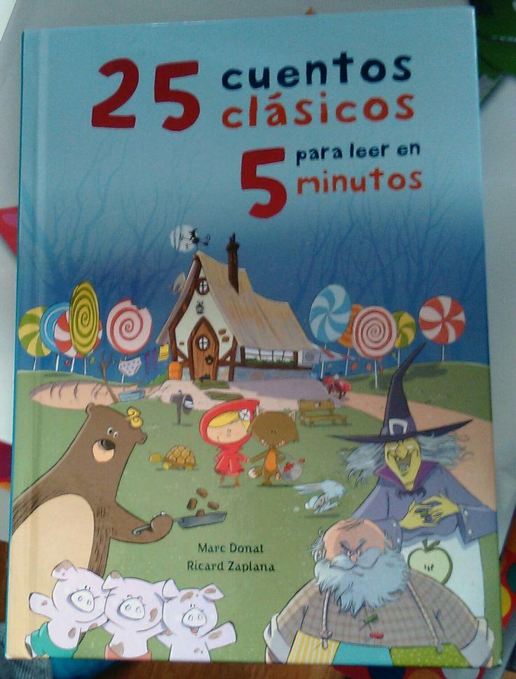 25 cuentos clásicos para contar en cinco minutos