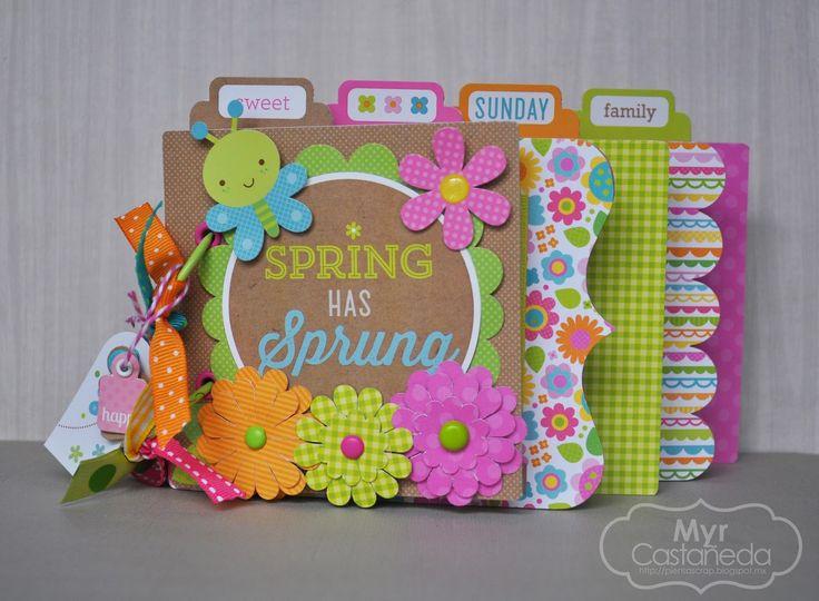 Doodlebug Design Hello Sunshine Mini Album