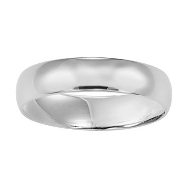 Best Mens White Gold Wedding Band mm K jcpenney