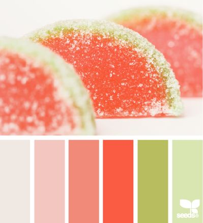 candied red - baby's room colors?