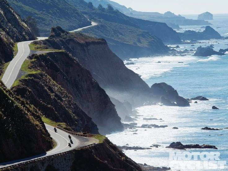 Pacific Coast Highway.  A fantastic drive.  One of my favourite memories.  San Fran to L.A.