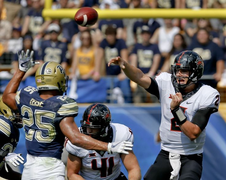 'The Tom Brady of college football': Mason Rudolph has Oklahoma State rolling - Washington Post
