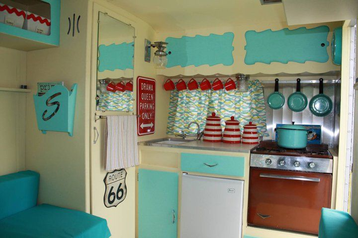 vintage trailers craft rooms | My New Love – I Want a Glamper!