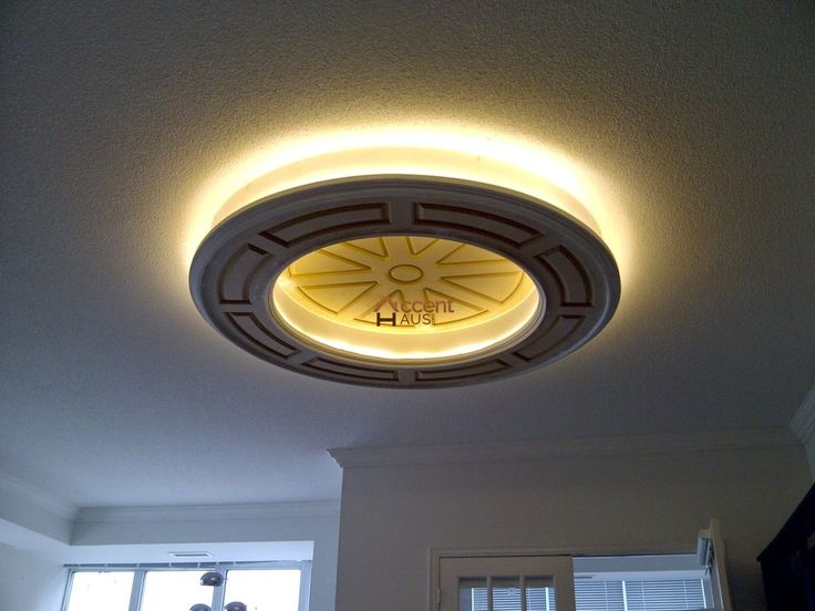 Classic Round Oval Ceiling Dining Room in a House Brampton