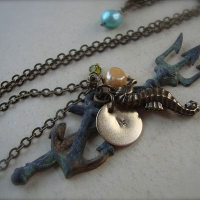 Hunger games finnicks trident necklace