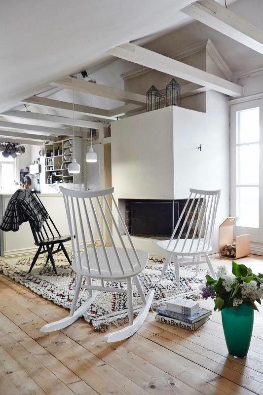 ARTEK - Mademoiselle rocking chair, design Ilmari Tapiovaara