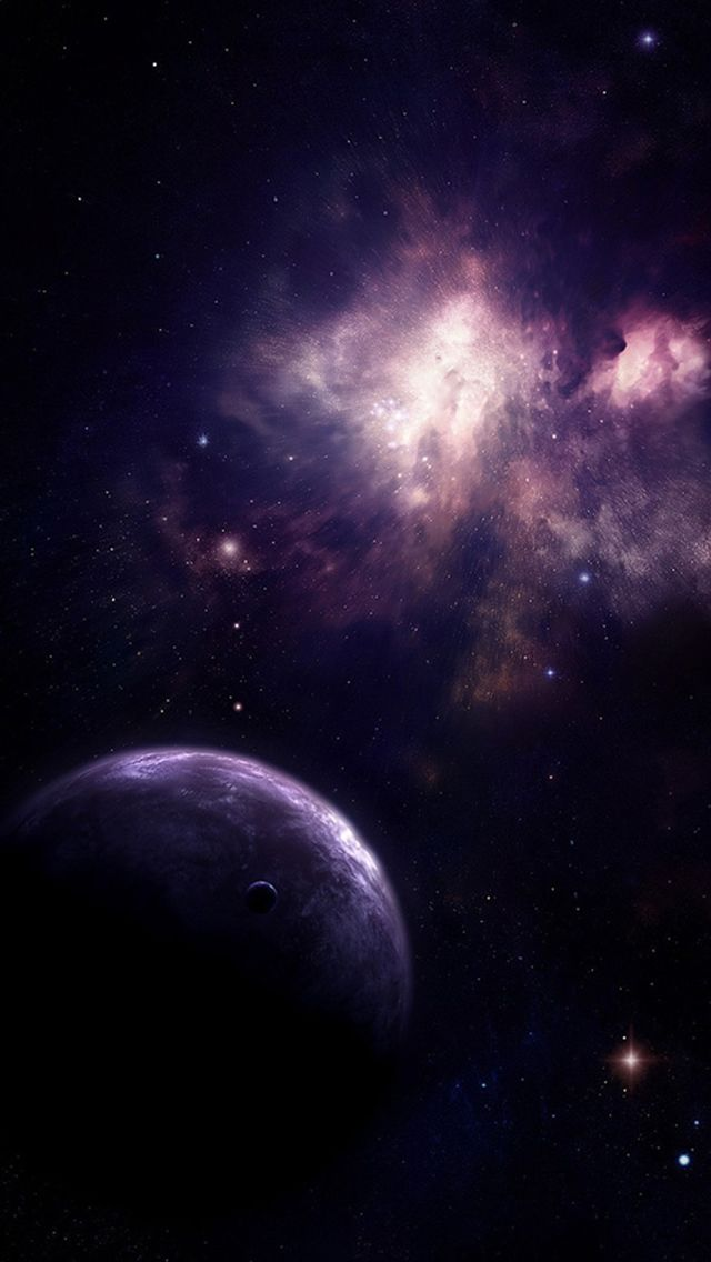 Shiny Fantasy Outer Space Planet Space view #iPhone #5s #wallpaper