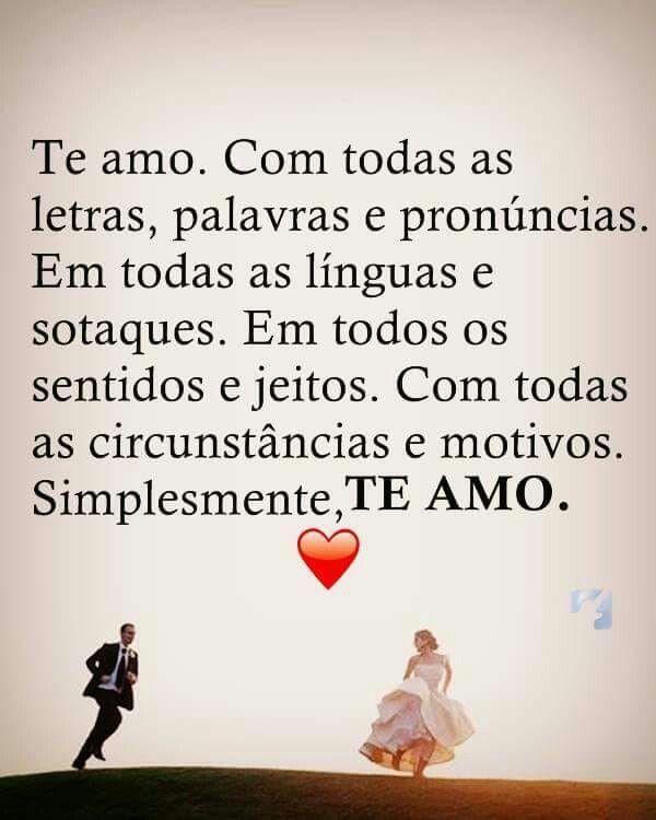 Te Amoo Com Imagens Frases De Amor Namorada Mensagens De Amor
