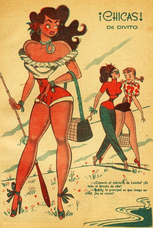 Illustration byGuillermo Divito c. 1940's