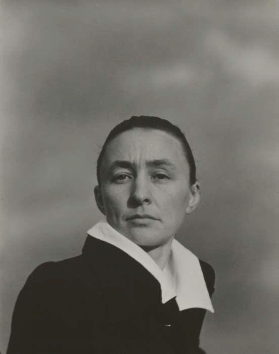 Georgia O'Keeffe photographed by Alfred Stieglitz
