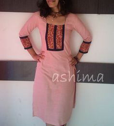Linen Cotton With Ikkat & Kalamkari Patch-Code:1306150 Rs.1590/- All sizes available. Free shipping to all courier destinations in India. Online payment through PayUMoney / PayPal