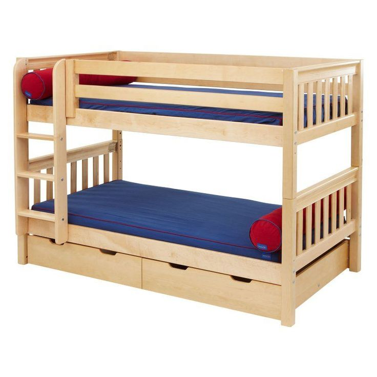 Hot Shot Twin over Twin Slat Bunk Bed - MXTX146