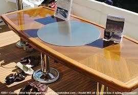 TEPPANYAKI FOR THE YACHT. It's a table, it's a grill...