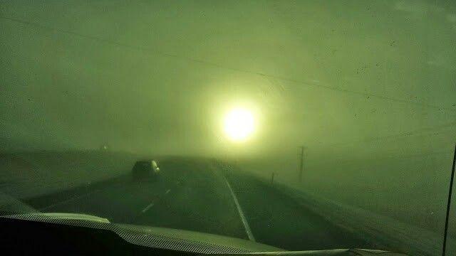 Morning fog Manitoba