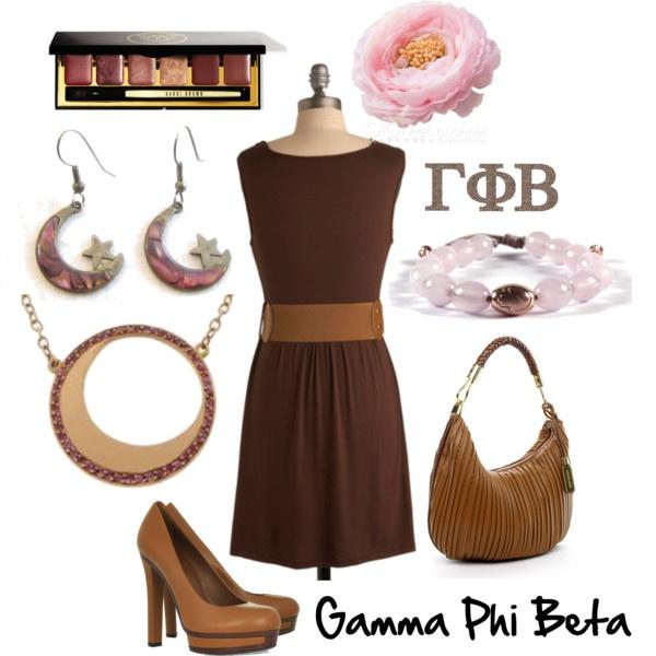 Gamma Phi Beta: Craft Ideas Gphi, Beautiful Gphib, Themed Outfit, I Am A Gamma Phi Beta Girl, Beta Outfit, Gamma Phi Beta Badge, Brown Fan