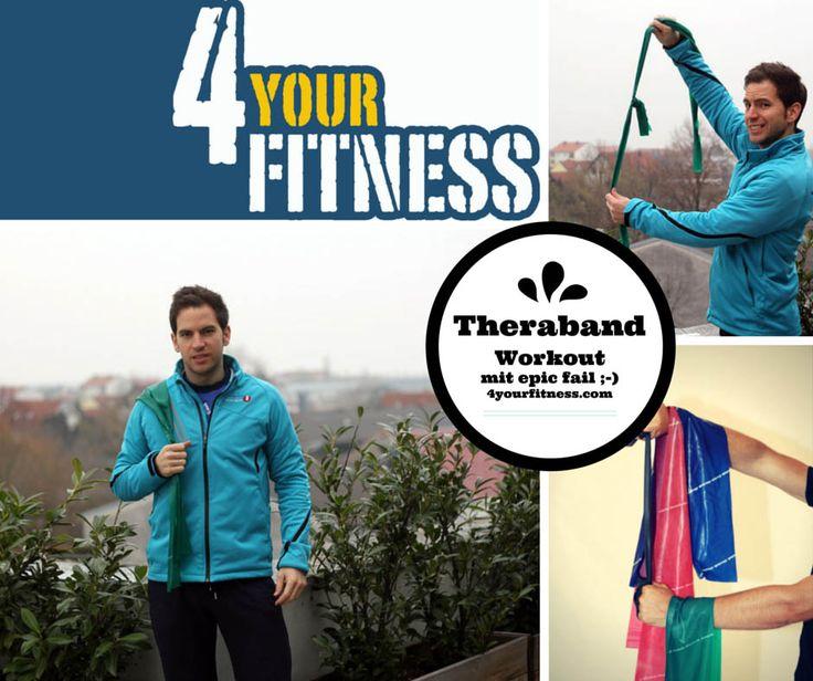 Theraband Workout mit einfachen aber effektiven Übungen Das passende Übungsbad gibt es hier: http://www.claptzu.de/theraband-5-5-m.html