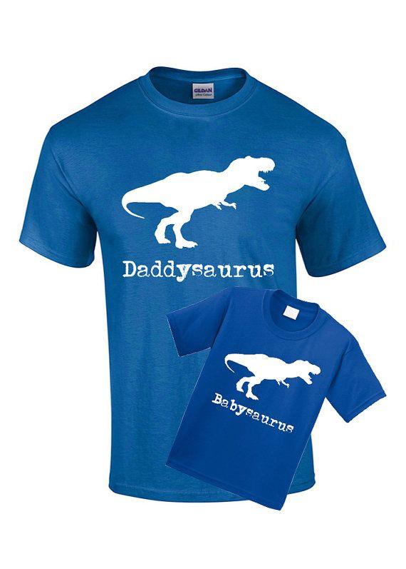 Matching Shirts Daddysaurus Babysaurus Kids by CoolTeesOnline