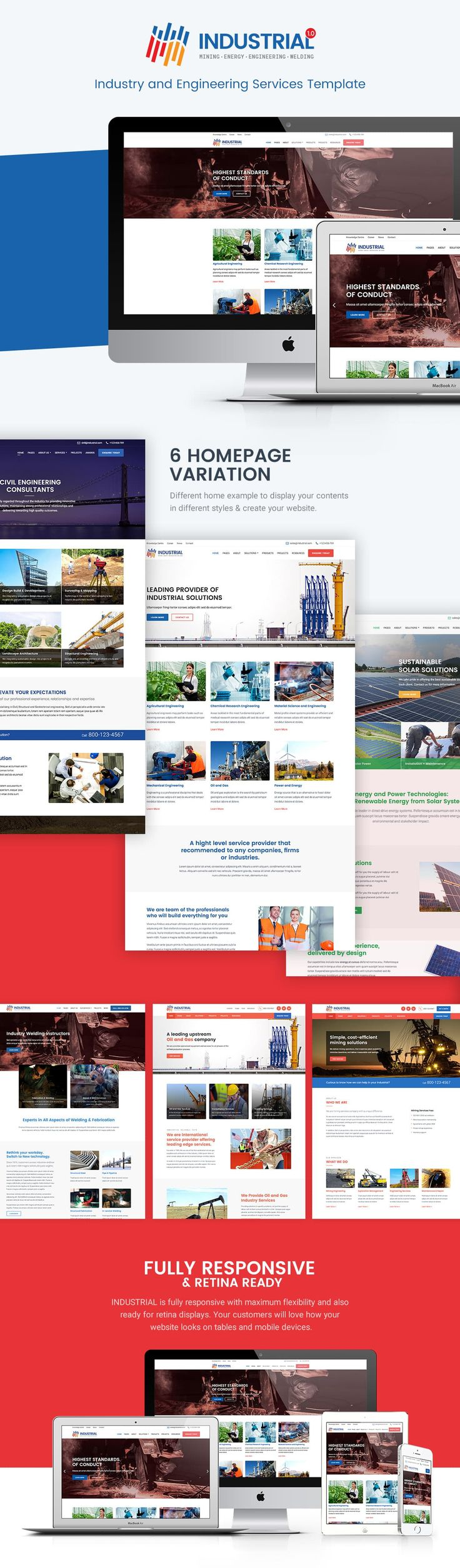 wedding invitation template themeforest%0A Industrial  Industry and Engineering Services Template