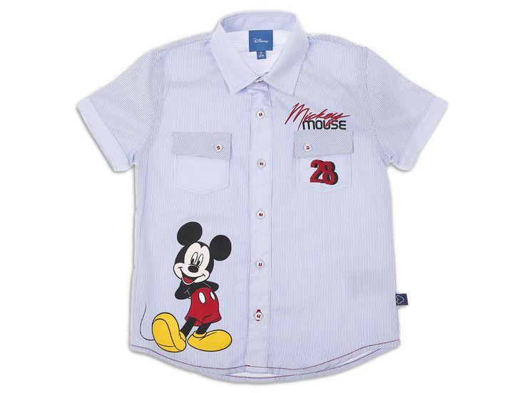 Camisa a Rayas para Niño Mickey