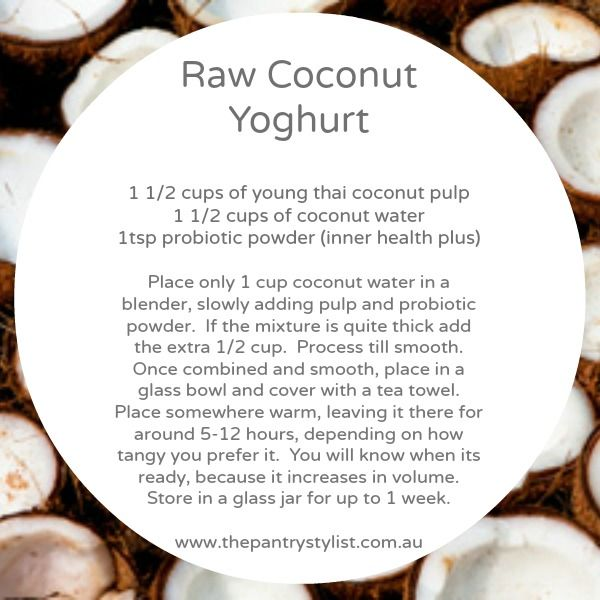 Raw coconut yoghurt  #raw #coconut #paleo #health