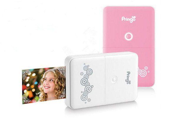 Impresora portátil para Android e iPhone Pringo, imprime fotos a través del WiFi sin degradación o huellas dactilares.