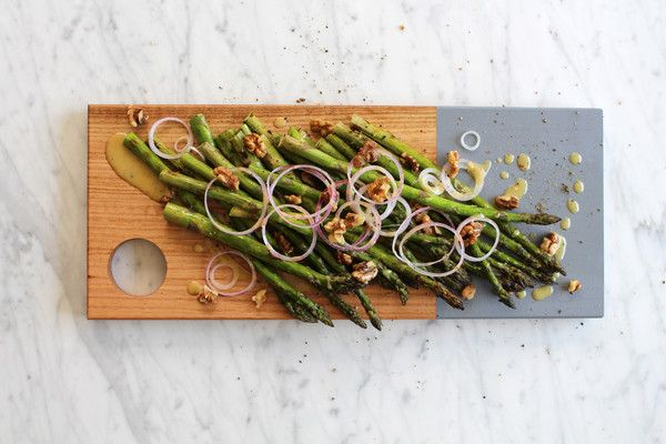 I have to admit that I get excited when Australian-grown asparagus hits the supermarket in Spring. This recipe simply combines three ingredients with a classic mustard vinaigrette.