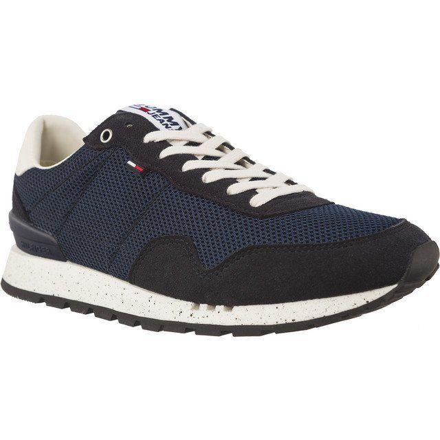 Sportowe Meskie Tommyhilfiger Niebieskie Tommy Hilfiger Jeans Lifestyle Sneaker Tommy Hilfiger Jeans Sneakers Tommy Hilfiger