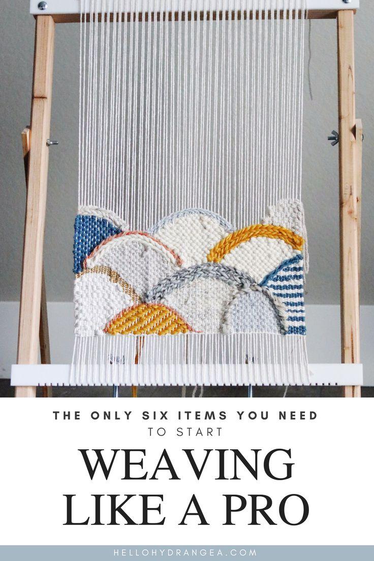 Start Weaving Supplies Beginner