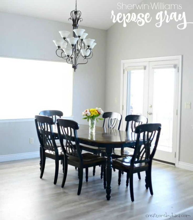 Dining Room Paint Colors, Best Grey Paint Colors For Dining Room