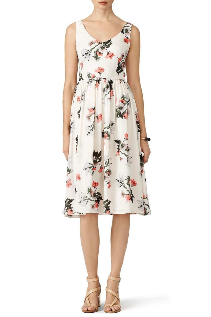 Rent Ivory Petals Dress by BB Dakota for $30 - $45 only at Rent the Runway.
