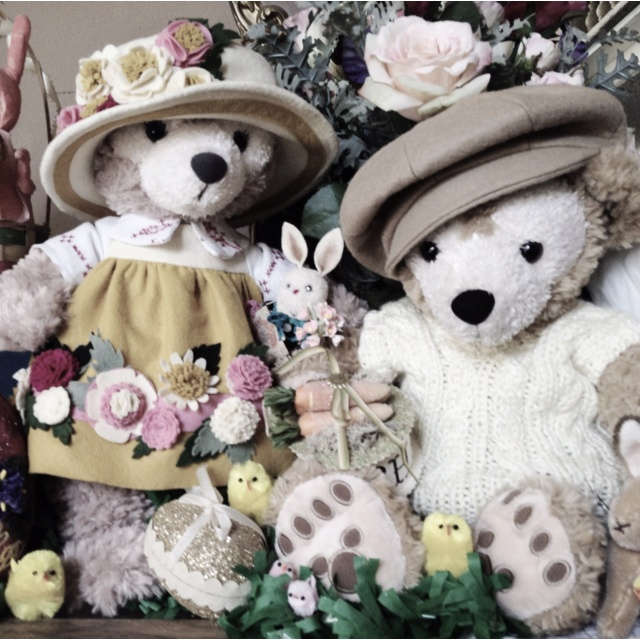 Duffy & Shellie May - the Disney Bears