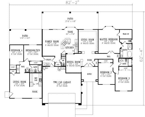 Perfect Main Floor Plan