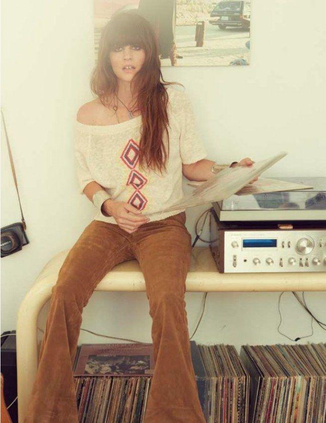 Schlaghosen sind typisch für die 70er Mode