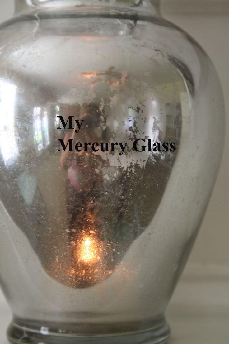 17 Best Images About Mercury Glass Diy Ideas On Pinterest