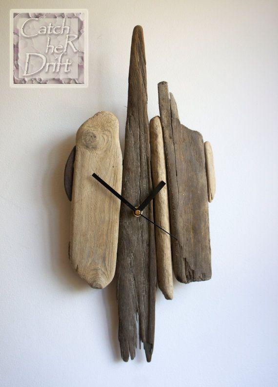 Driftwood Clock / Driftwood Decor / Driftwood Art